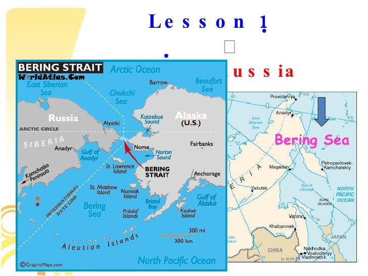 Russia Introduction And Lesson - Where is russia located