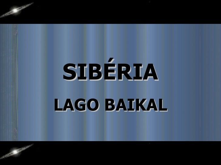 SIBÉRIALAGO BAIKAL