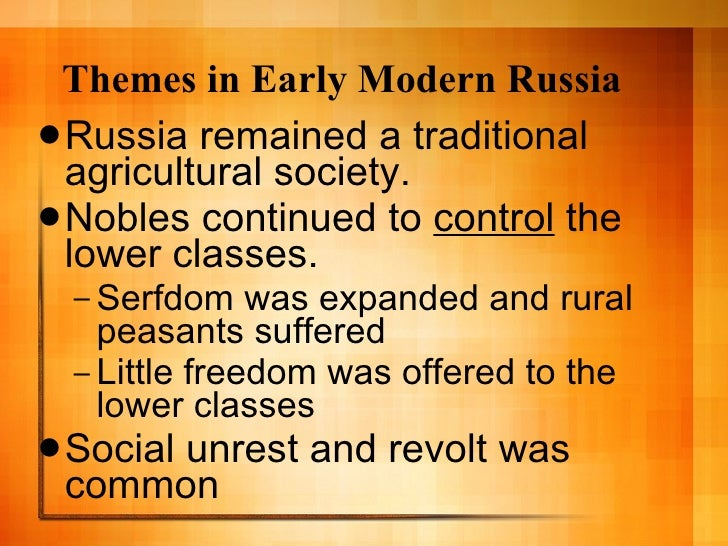 russia 1450 1750 Modern russian identity and historical experience has been largely shaped by  russia's imperial past: an empire that was founded in the early modern era and.