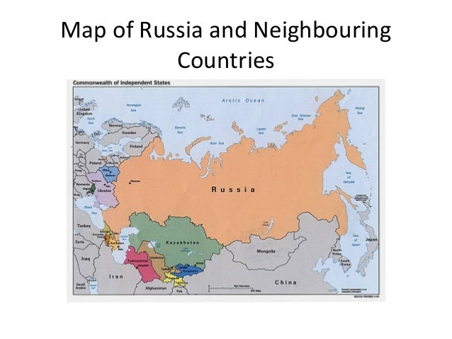 Russia And Neighbouring Countries