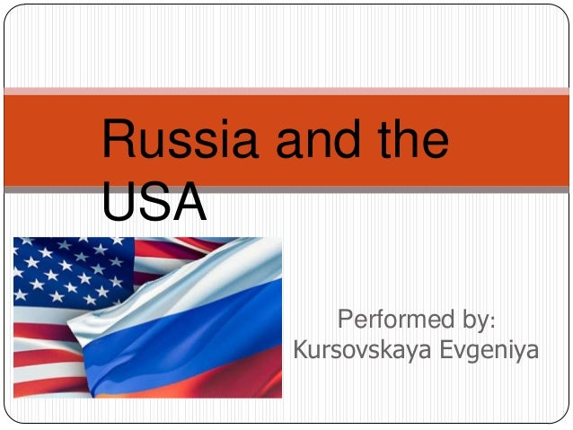 Performed by:Kursovskaya EvgeniyaRussia and theUSA