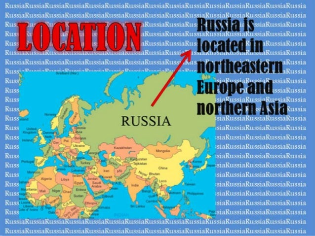 Russia World Cup - Where is russia located