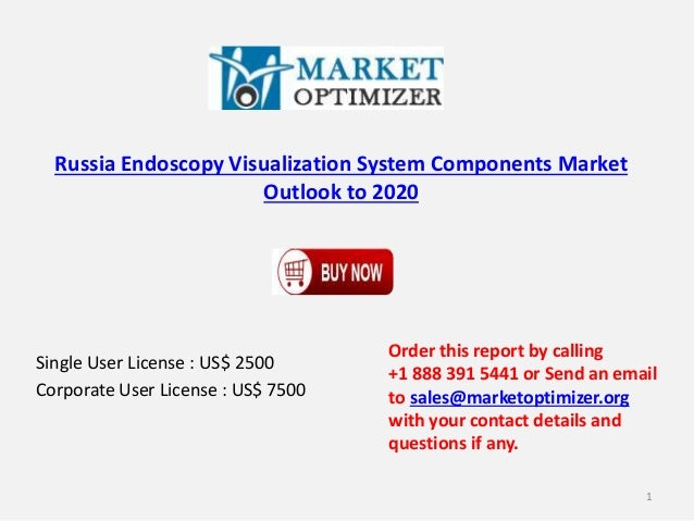 Russia Endoscopy Visualization System Components Market Outlook to 2020 Single User License : US$ 2500 Corporate User Lice...