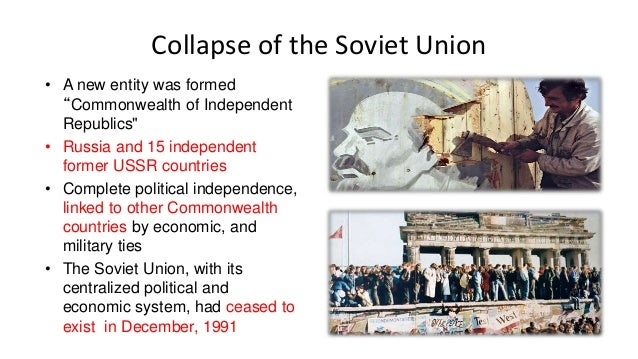 the events leading to the collapse of the soviet union The events of 1989 reshaped the political world, prompting the collapse of communist governments in eastern europe and eventually leading to the disintegration of the soviet union.