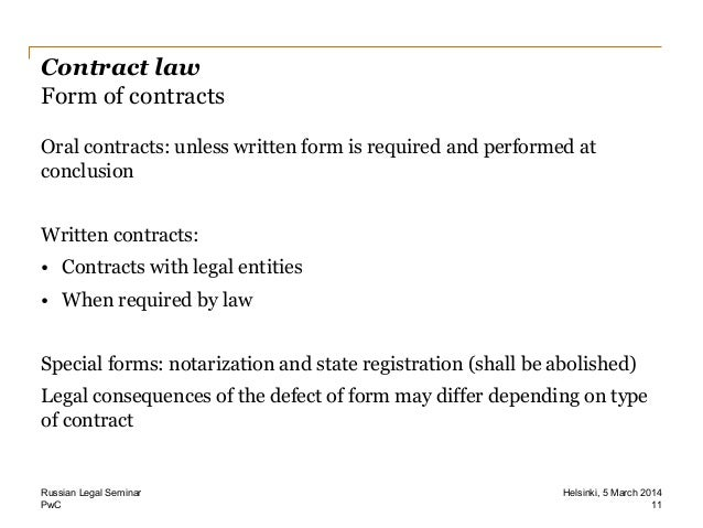 Russian Legal Seminar Legal Advice For Foreigners Doing Busine - Legal forms contracts