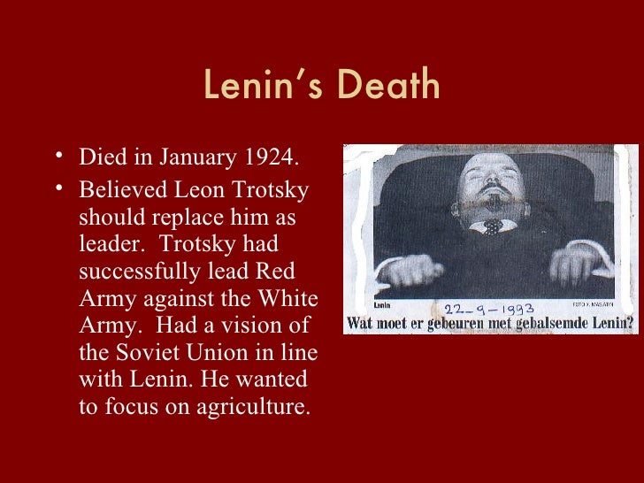 Lenin and trotsky compare and contrast essay