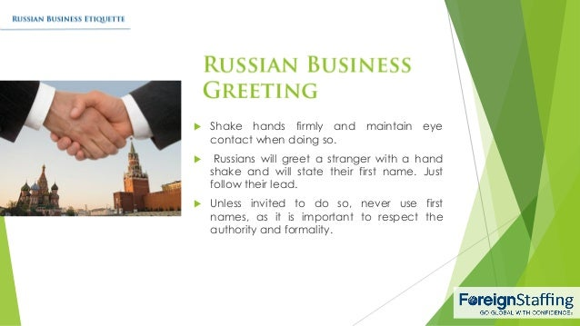 Business culture in Moscow