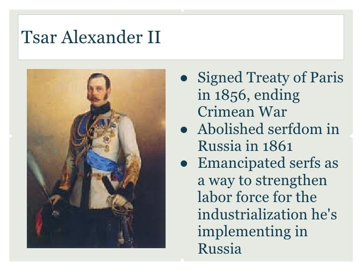 the emancipation of the serfs in russia in 1861 Dates of emancipation from serfdom in various countries scotland: neyfs (serfs) disappeared by the late 14th century russia's age of serfdom 1649–1861 (2008.