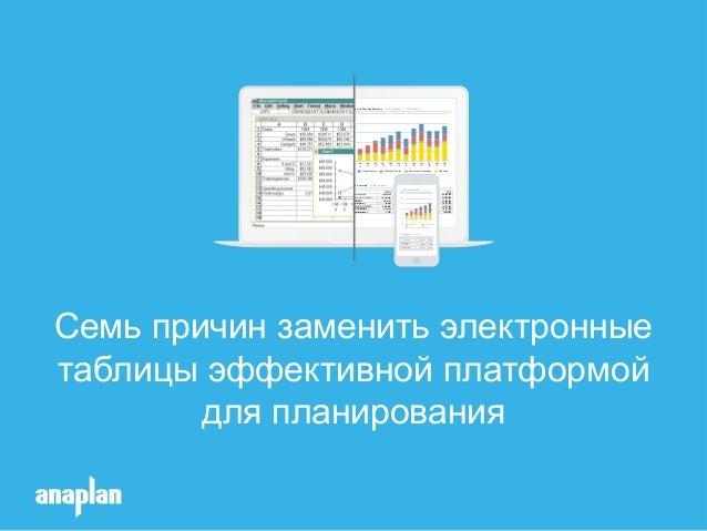 Семь причин заменить электронные таблицы эффективной платформой для планирования Total Company Contract Revenue Top Line R...