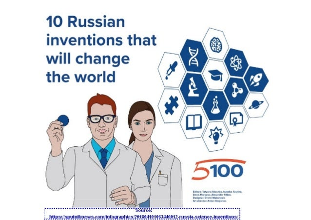 Russian Inventions that will positively shake the world