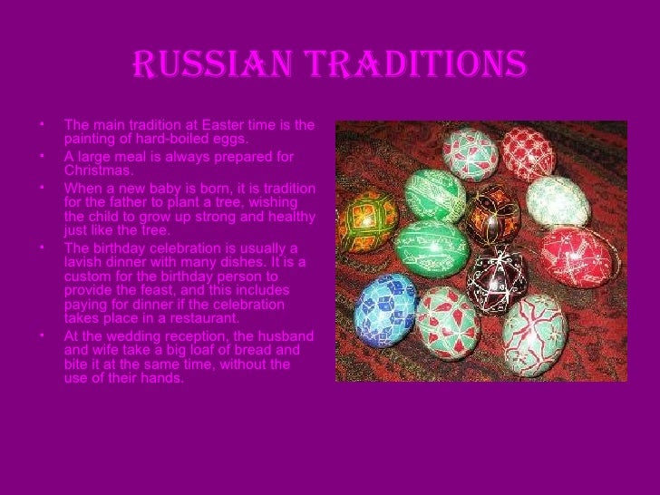 russian power point russian traditions