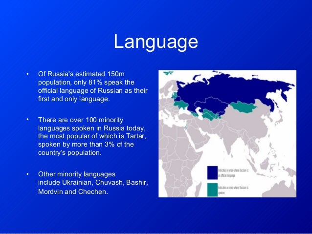 Language Name Russian Population