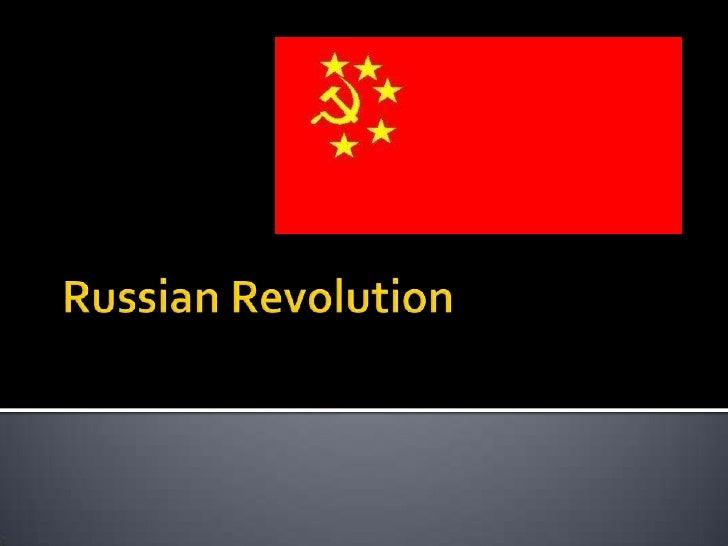 Russian Revolution<br />
