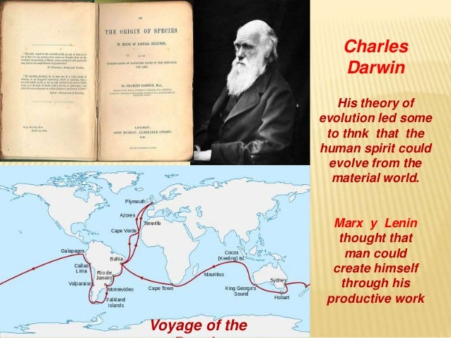 Marx and Engels...and Darwin?
