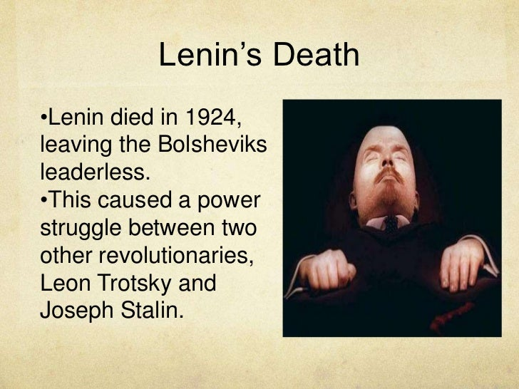 vladimir lenins childhood revolutionary activities government formation and death Vyacheslav molotov was a soviet politician and diplomat who played a leading role in the soviet government from the 1920s he served as the minister of foreign affairs for several years and as a major spokesman for soviet union at allied conferences during and immediately after the second world war.