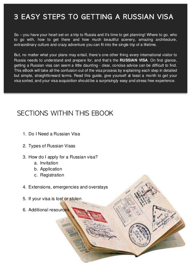 Russian Visa In Time How
