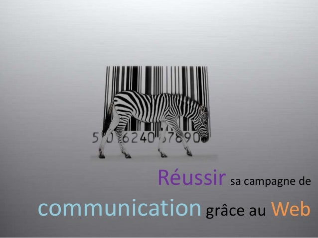 Réussir sa campagne de  communication grâce au Web