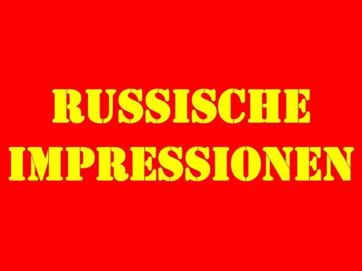 RussischeImpressionen