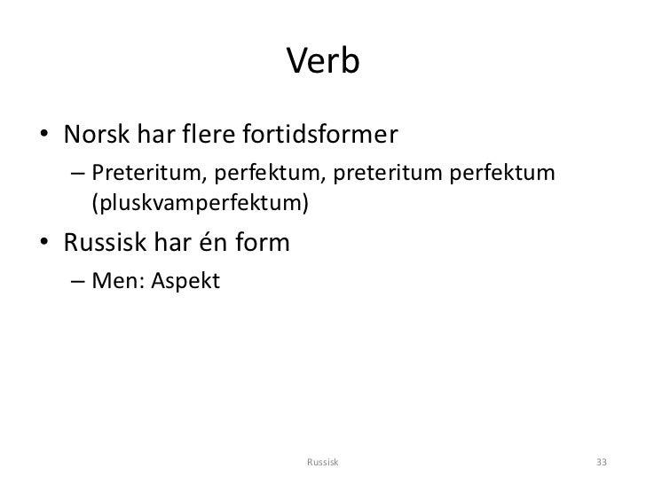 norsk preteritum