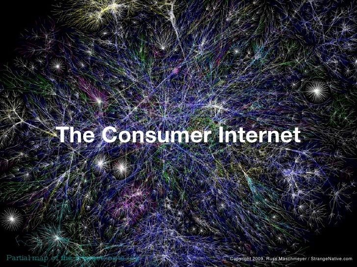 The Consumer Internet Partial map of the Internet, opte.org Copyright 2009, Russ Maschmeyer / StrangeNative.com