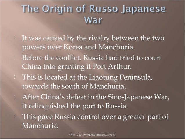 russo japanese war effects