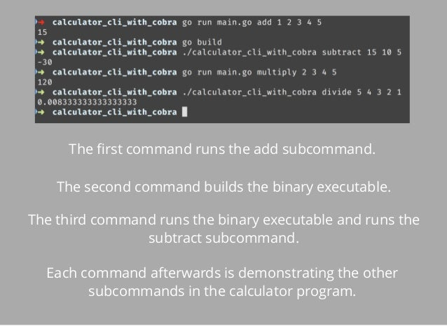 Writing Rust Command Line Applications