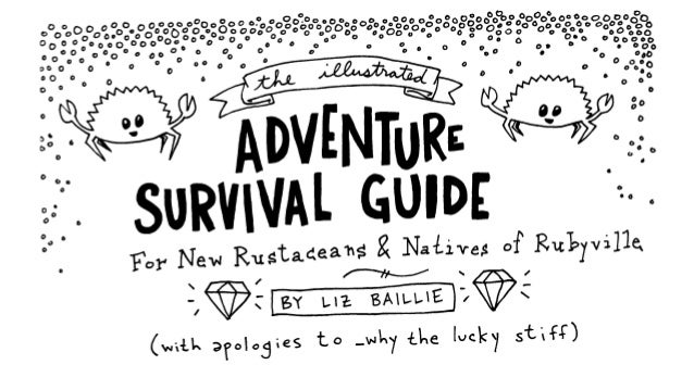 RustConf 2016 - Illustrated Adventure Guide