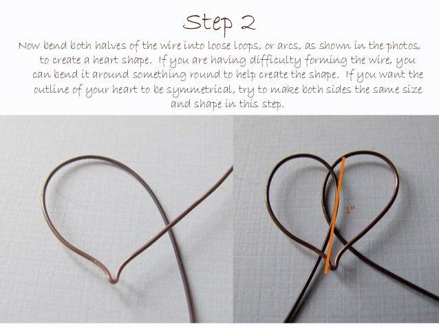 Rustic Romance Heart Pendant Wire Jewelry Tutorial