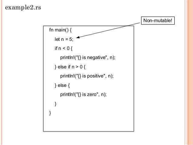 struct Rectangle{ x : i32, y : i32 } impl Rectangle{ fn area(&self) -> i32{ self.x*self.y } } fn main() { let rect = Recta...