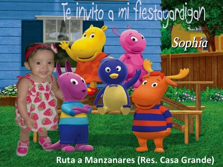 Sophia Ruta a Manzanares (Res. Casa Grande)