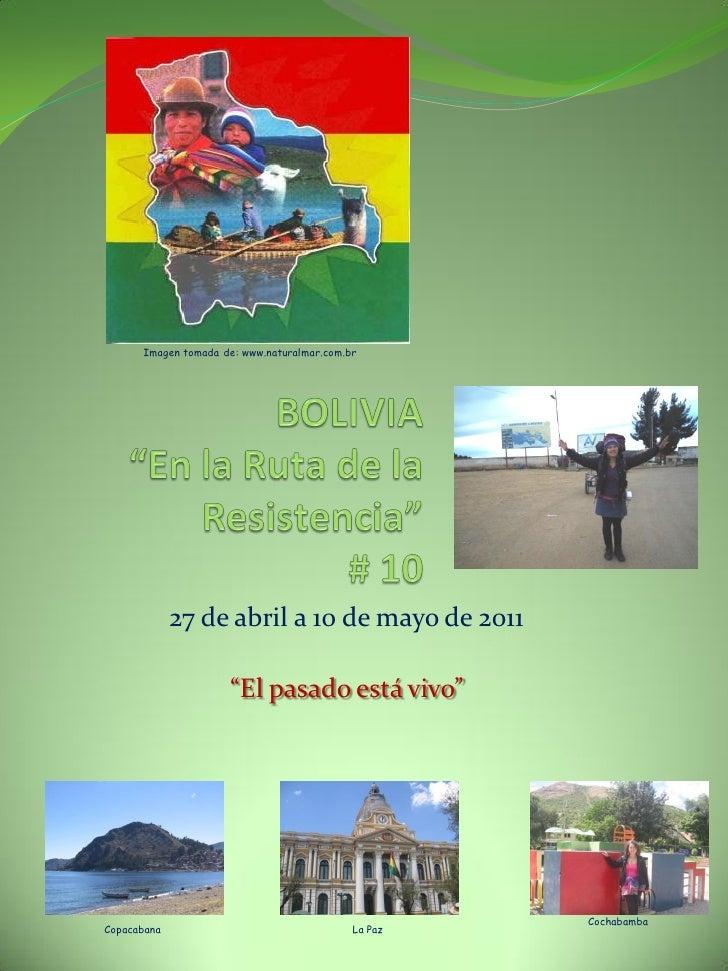 """Imagen tomada de: www.naturalmar.com.br             27 de abril a 10 de mayo de 2011                     """"El pasado está v..."""