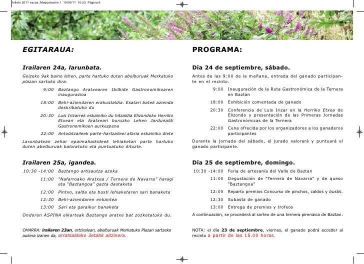 folleto 2011 vacas_Maquetación 1 19/09/11 10:23 Página 6      EGITARAUA:                                                  ...