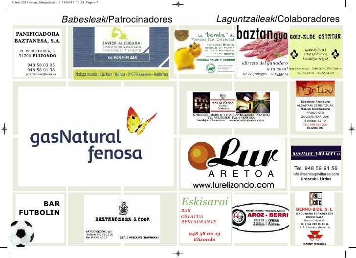 folleto 2011 vacas_Maquetación 1 19/09/11 10:23 Página 7                               Babesleak/Patrocinadores           ...