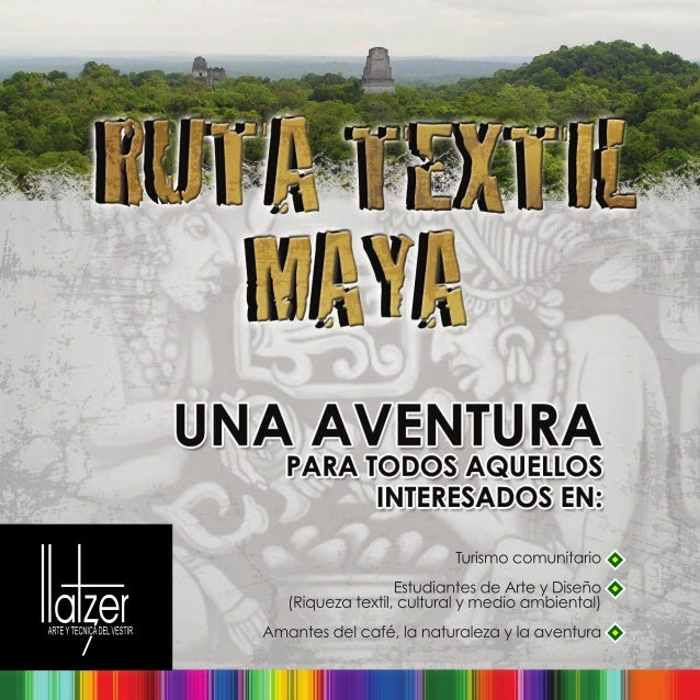 Turismo creativo en Guatemala: Ruta textil Maya