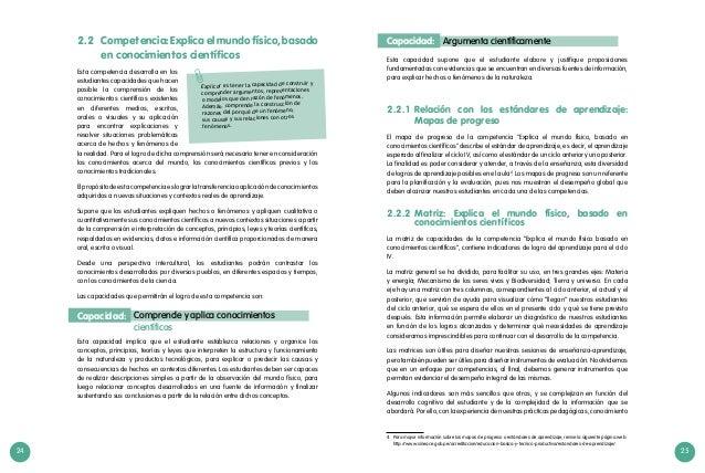24 25 Esta capacidad supone que el estudiante elabore y justifique proposiciones fundamentadas con evidencias que se encue...