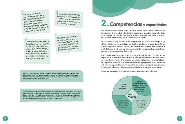 10 11  Para ser conscientes de que comprender conceptos científicos y tecnológicos nos ayuda a tomar decisiones informada...