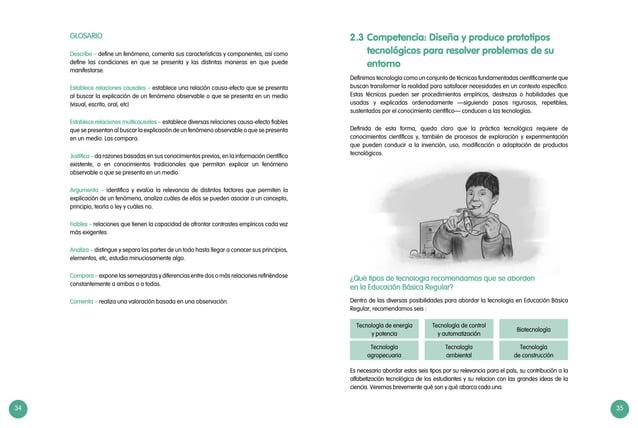 34 35 GLOSARIO Describe – define un fenómeno, comenta sus características y componentes, así como define las condiciones e...