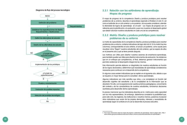 46 47 Definición del problema Diseño de las alternativas de solución Implementación de los prototipos Definir las alternat...