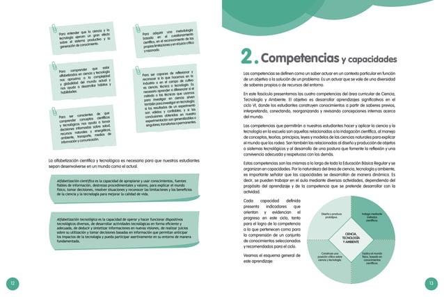12 13 Alfabetización científica es la capacidad de apropiarse y usar conocimientos, fuentes fiables de información, destre...