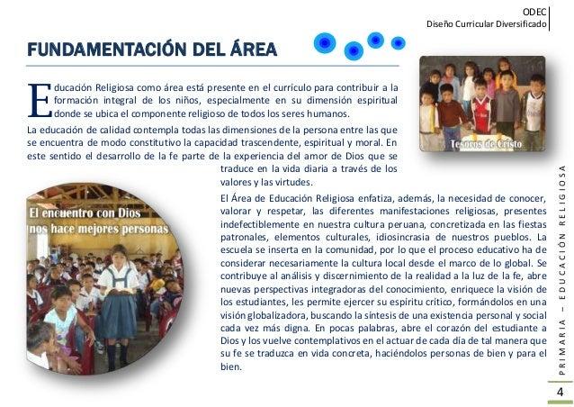 Rutas de aprendizaje Religión ODEC CHICLAYO Slide 3