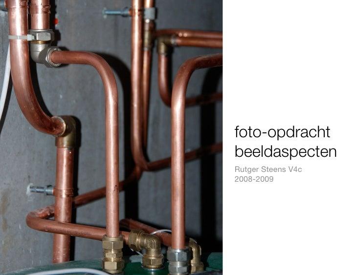 foto-opdracht beeldaspecten Rutger Steens V4c 2008-2009