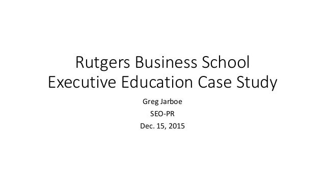 Case study on executive shirt company