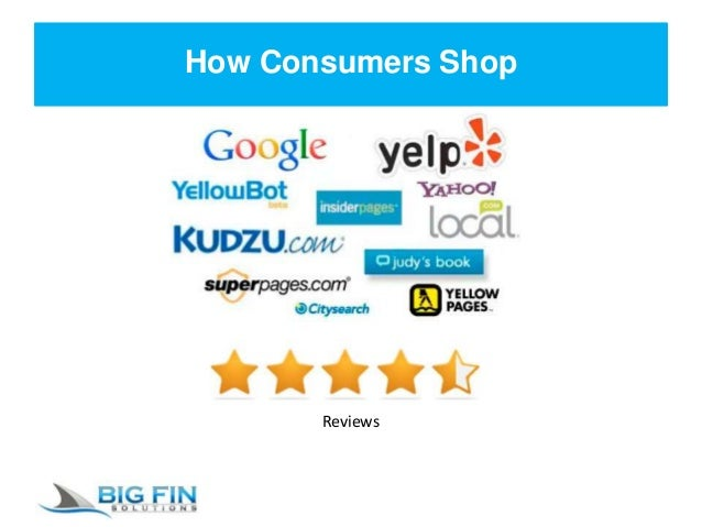 How Consumers Shop Reviews