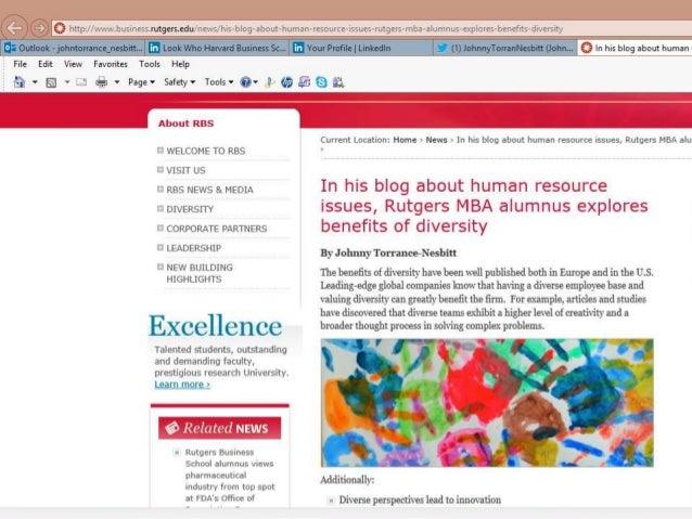 Rutgers Diversity Article 2013