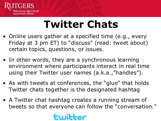 2dec9ed0da Rutgers Online   Hybrid Learning Conference Twitter Chats Workshop