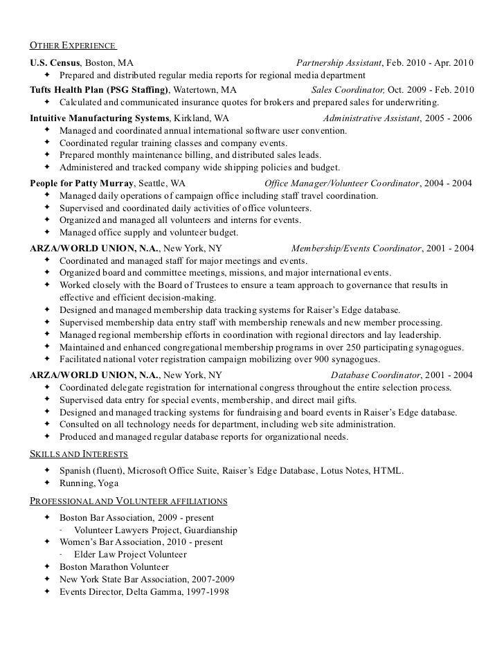 ruth e green april 2011 resume