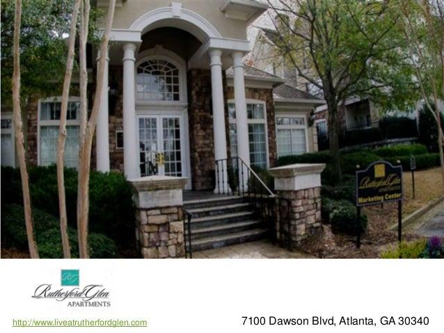 Rutherford Glen Atlanta, GA Apartments. Http://www.liveatrutherfordglen.com  7100 Dawson Blvd, Atlanta, GA ...