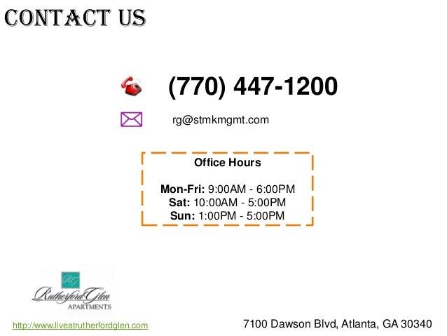 Rutherford Glen Atlanta Ga Apartments