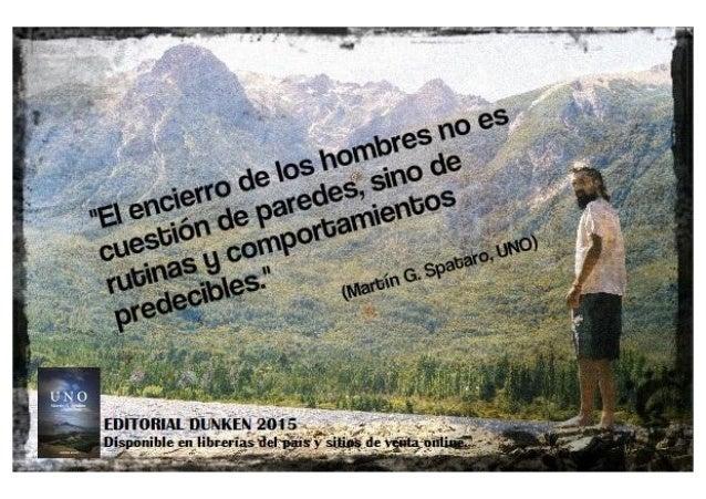 Martín G Spataro Uno Frase Del Libro Sobre Rutina