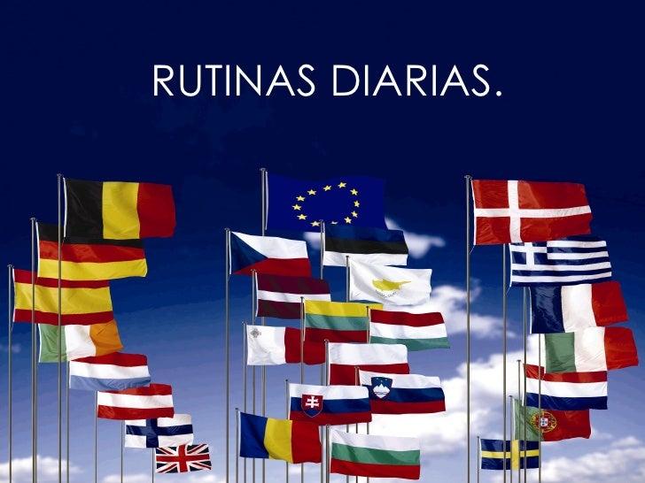 RUTINAS DIARIAS.